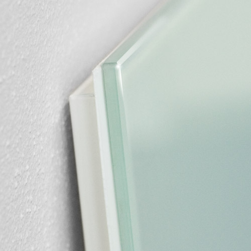dynatherm glass panel white